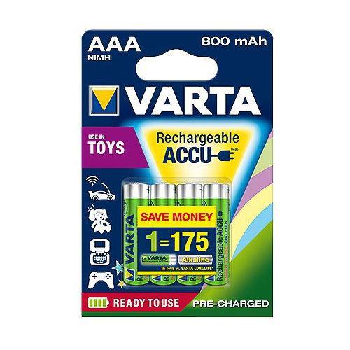 VARTA Rechargeable Accu AAA Micro